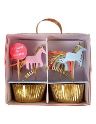 Meri Meri - Cupcake Kit ' I Believe In Unicorns '