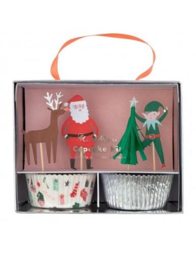 Meri Meri - Festive Icons Cupcake Kit