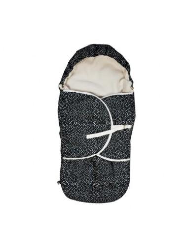 Mies & Co - Voetenzak Cozy Dots Black