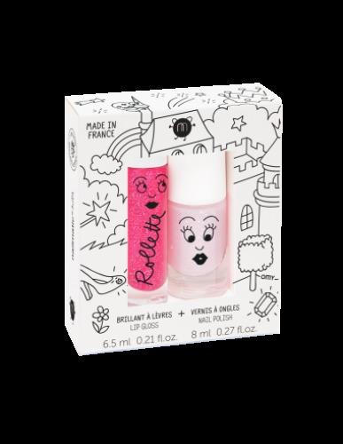 Nailmatic - Set nagellak & lipgloss fairytales