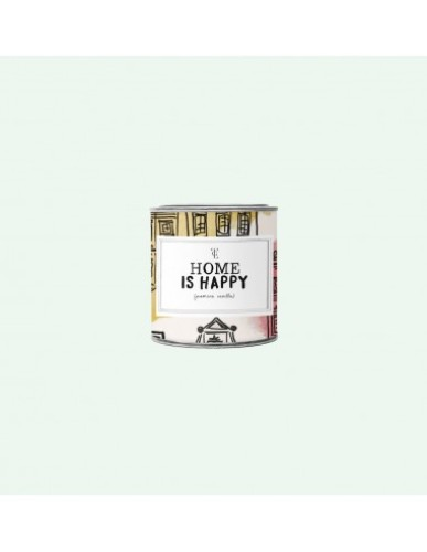 The Gift Label - Big Candle Tin ' Home is Happy '