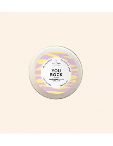 The Gift Label - Lip Balm You Rock