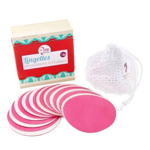 herbruikbare make-up pads