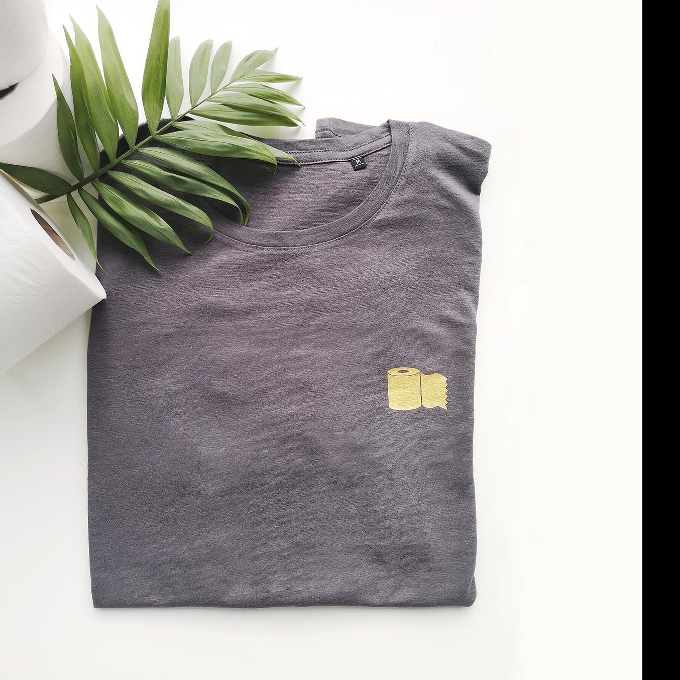 T-shirt golden toiletpaper - MEN