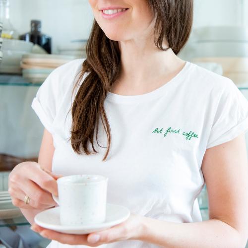 ONLINE ♡ Borduren van quote op T-shirt