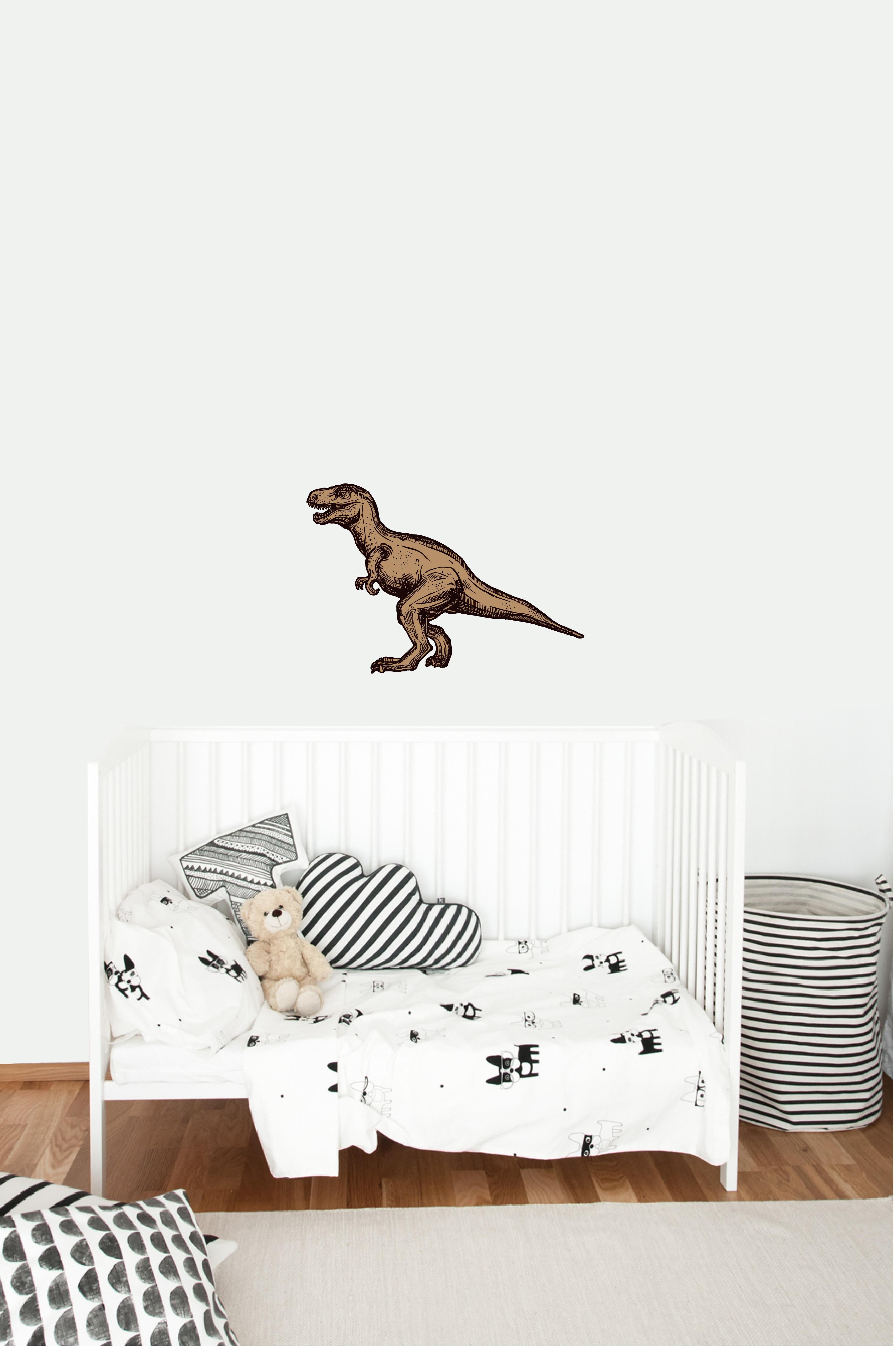 Muursticker tyrannosaurus