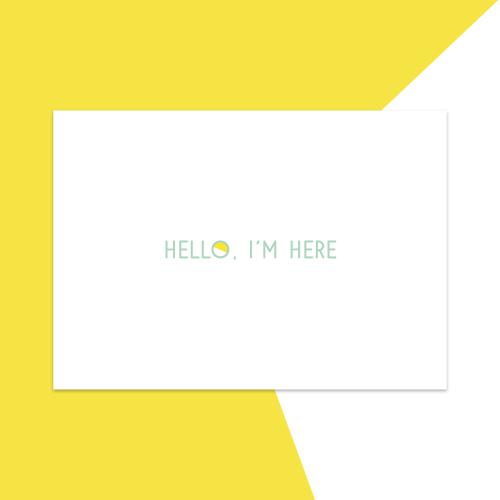 Hello. I'm here