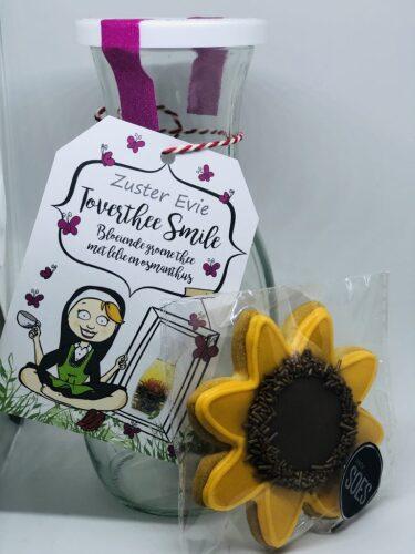 Toverthee smile + hemels koekje