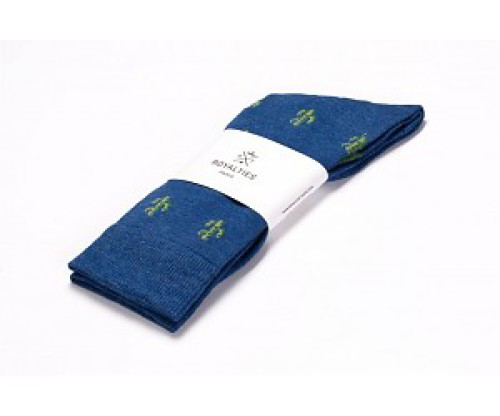 Royalties socks 40-45 Arizona cobalt