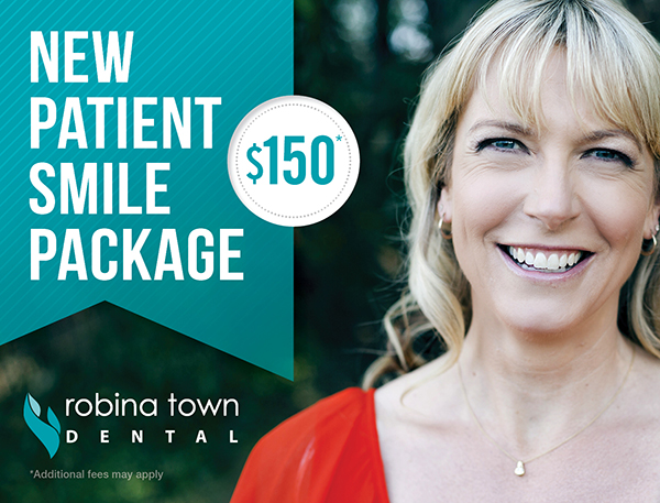 New Patient Smile Package at $150 at Robina Town Dental