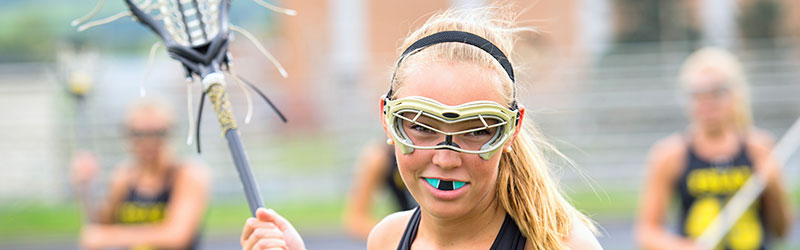 remember to wear a mouthguard especially in contact sports