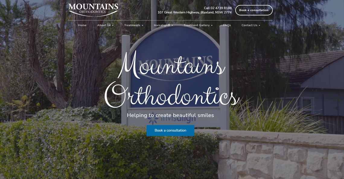 Mountain Orthodontics Home Page