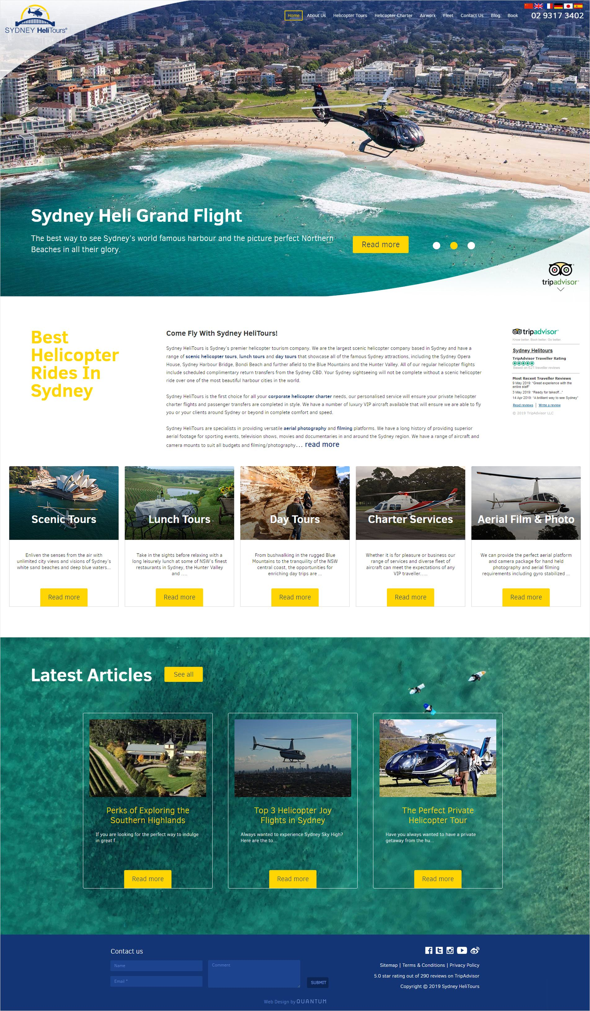 Sydney Helitours Home Page