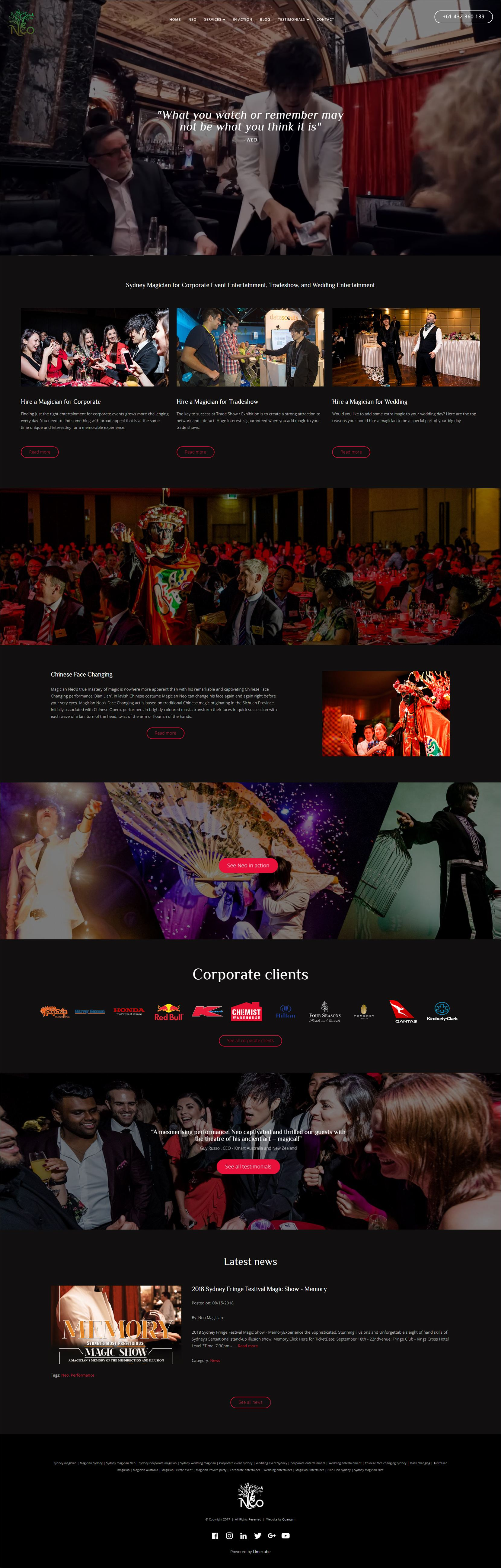 Magician Neo Home Page