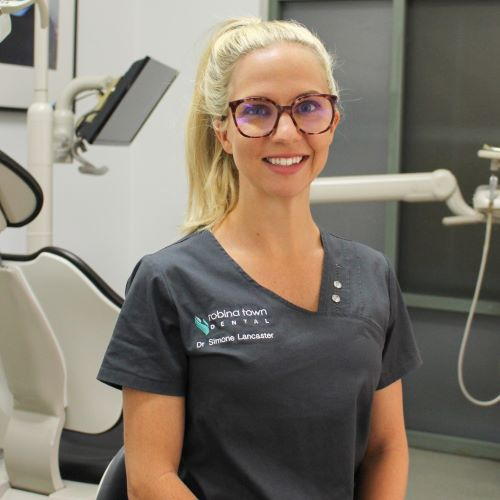 Dr Simone Lancaster at Robina Town Dental