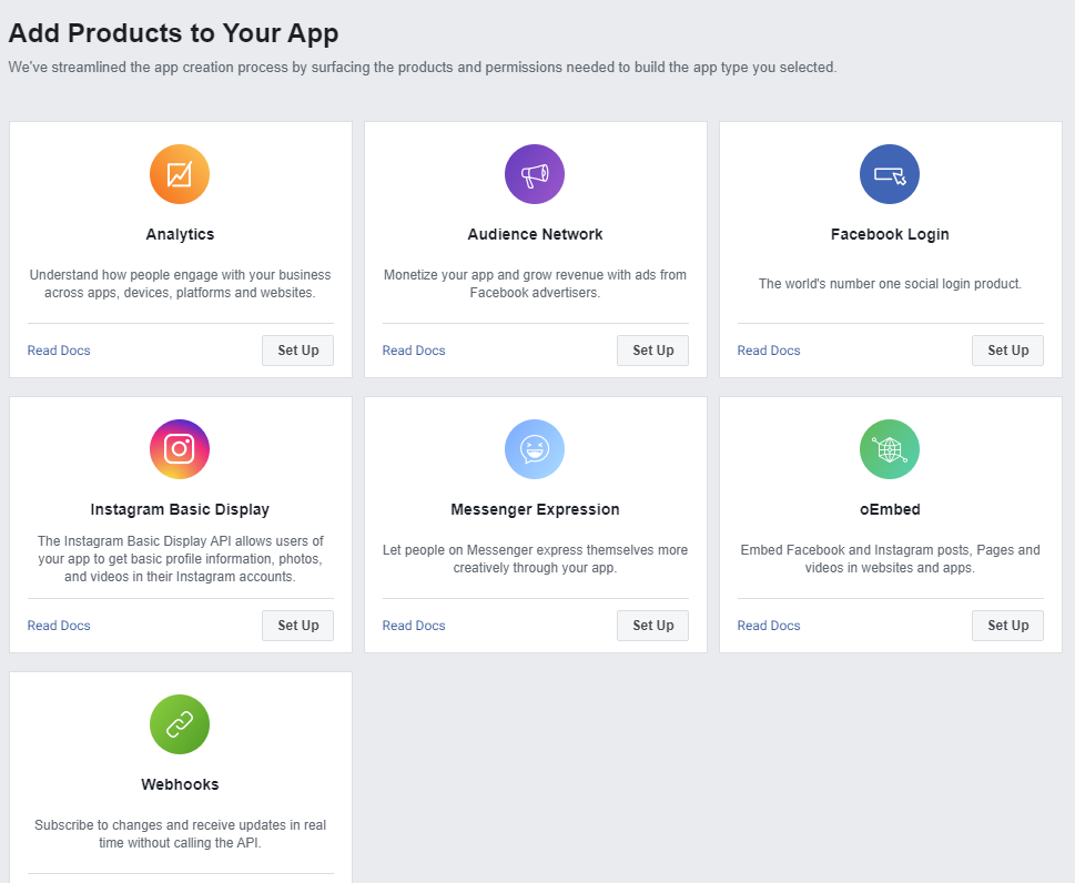Add Products to Your App