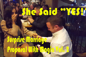 Surprise Marriage Proposal With Magic Vol. 2
