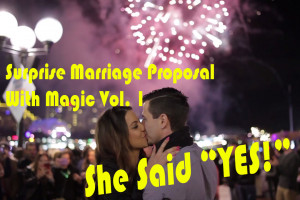 Surprise Marriage Proposal With Magic Vol. 1