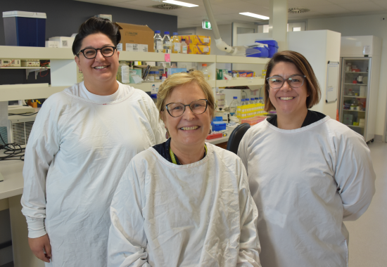 International focus on our ovarian cancer research