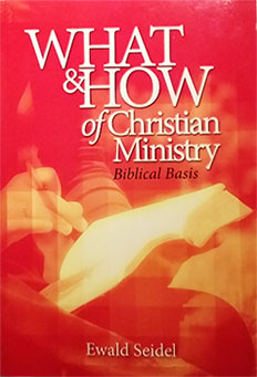 Christian Ministry book cover