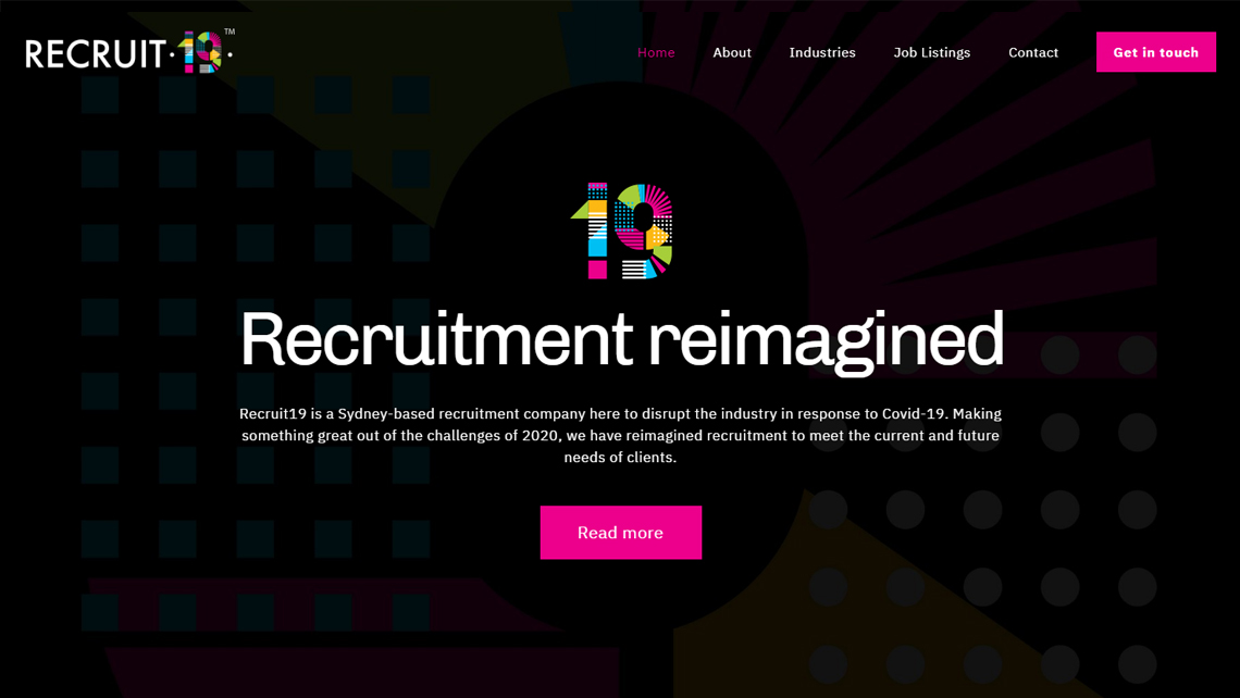 Recruit 19 Home Page