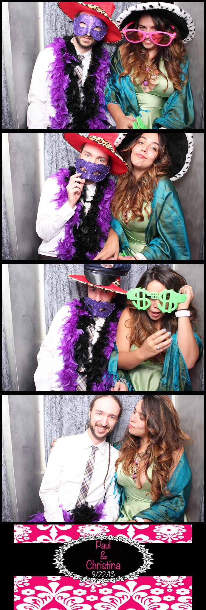 Limelight Entertainment's LED Photo booth in action at The Brownstone