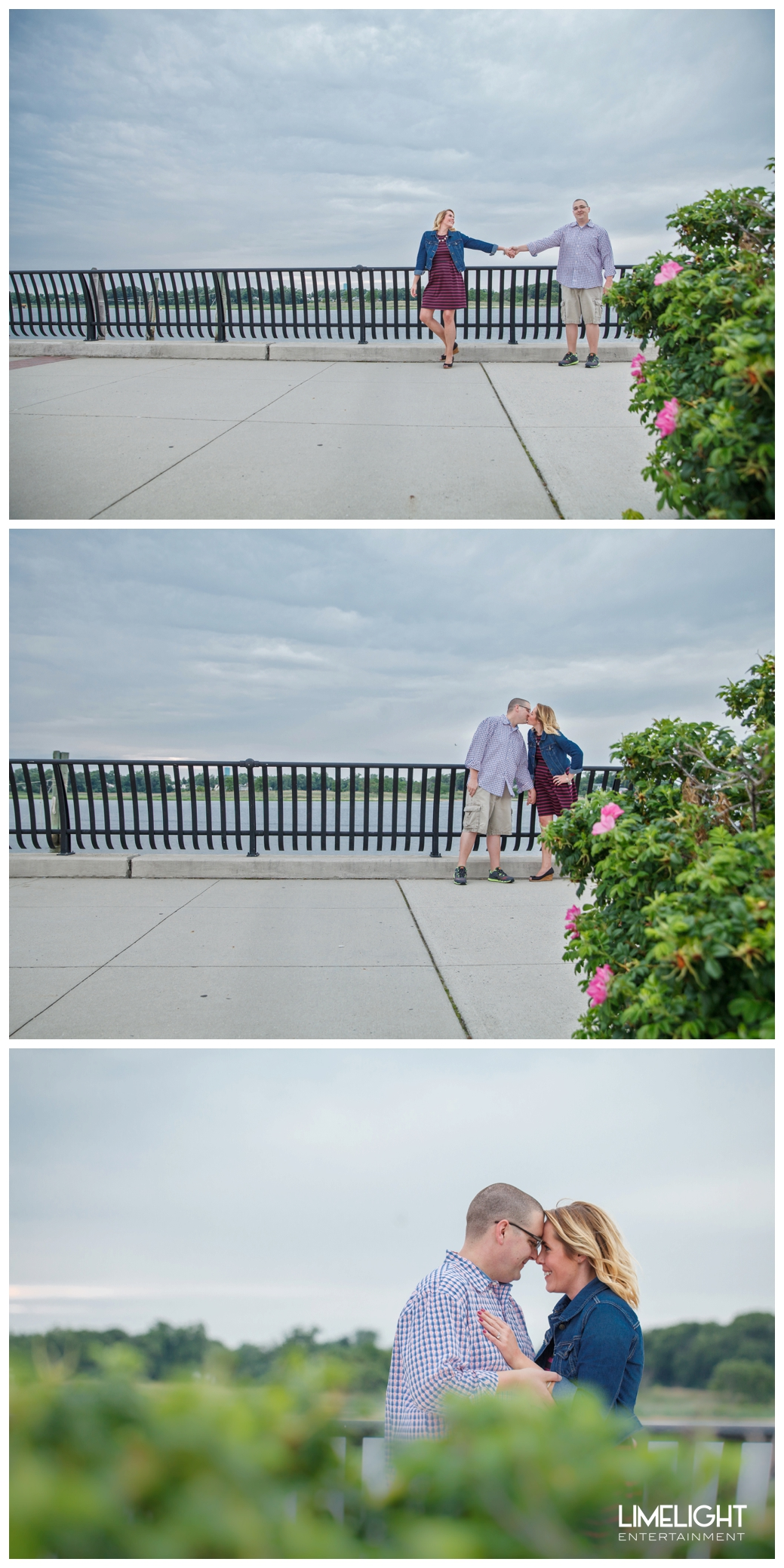 Megan + Mike's Engagement Session at the Keyport Waterfront