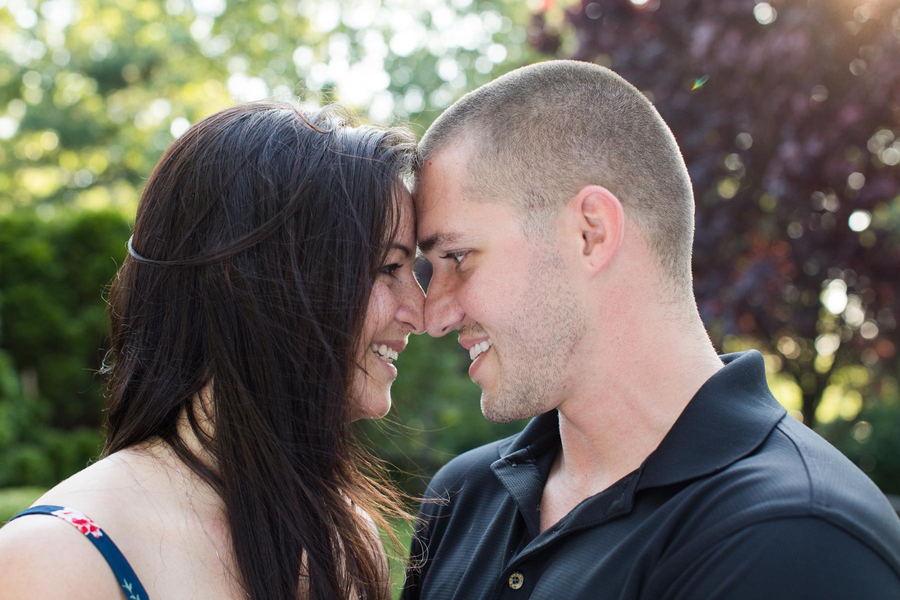 Jenn and Travis NJ Engagement Photography