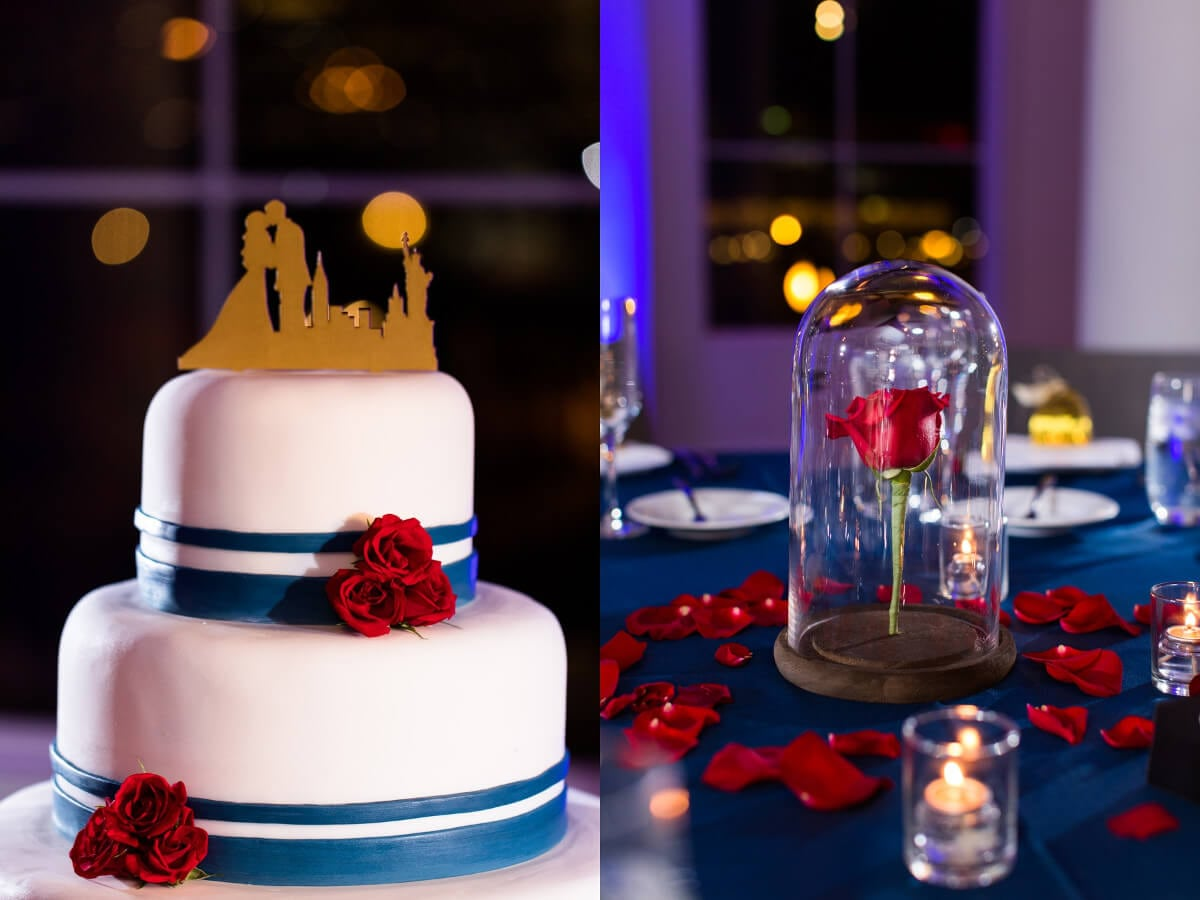 Beauty And The Beast Themed Winter Wedding Limelight Entertainment