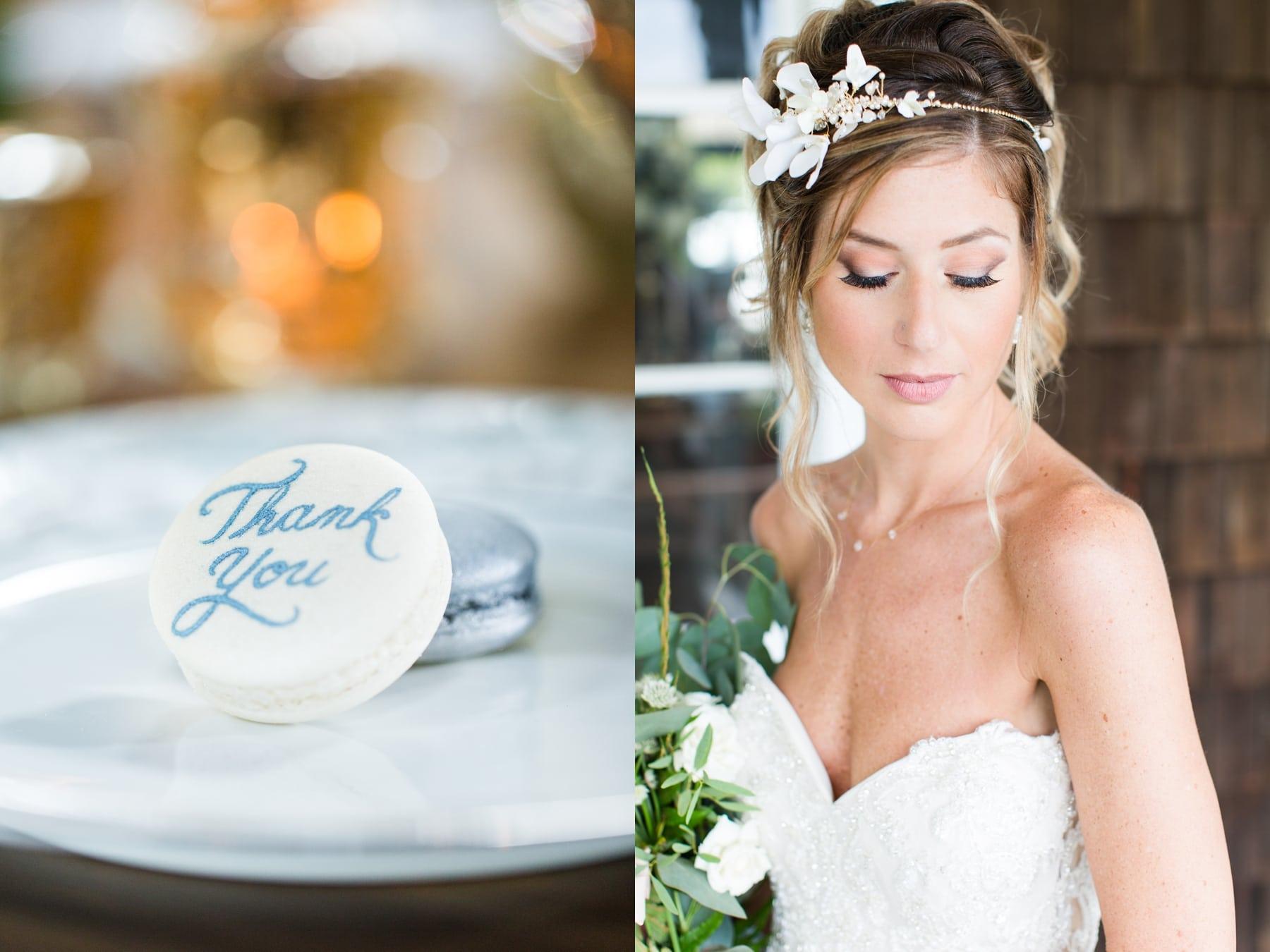 Bride in Her Wedding Dress Water Witch Club