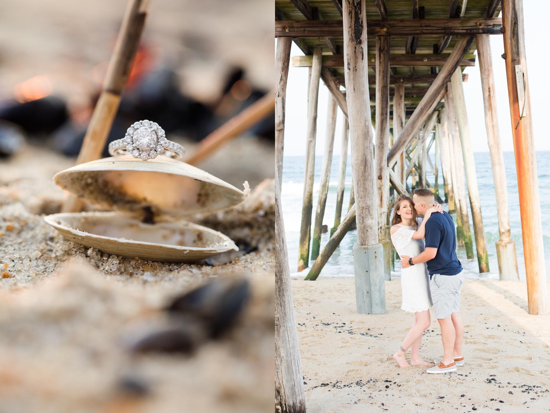 Mary + Luke's Beach Engagement Session