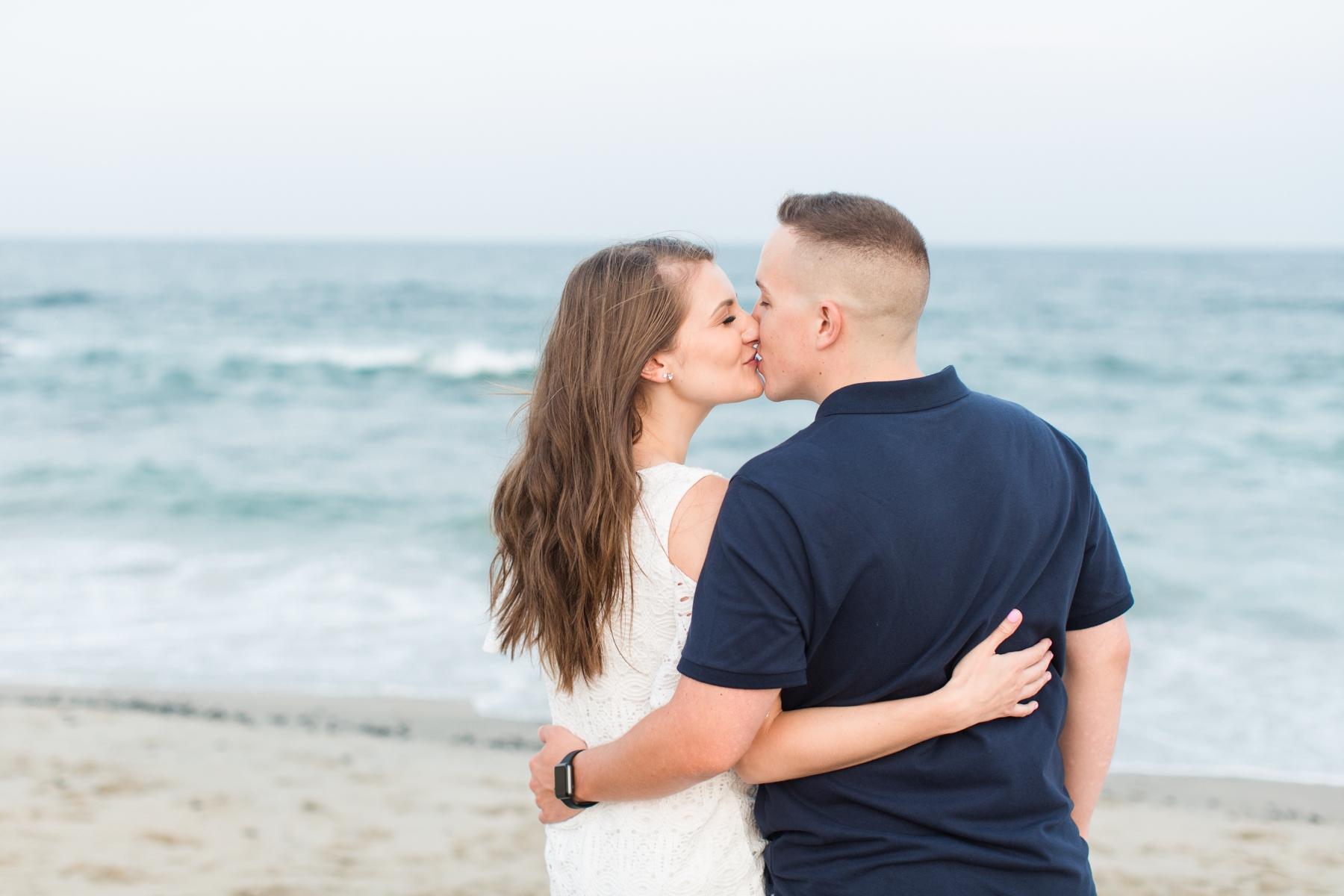 NJ Beach Engagement Photography