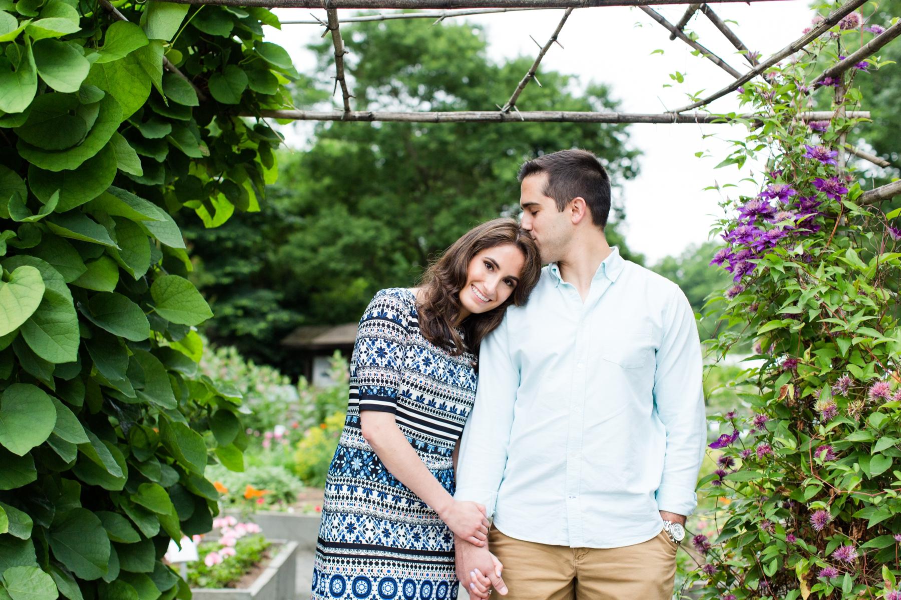 Miyako + Nathan's Engagement Photography at Deep Cut Gardens