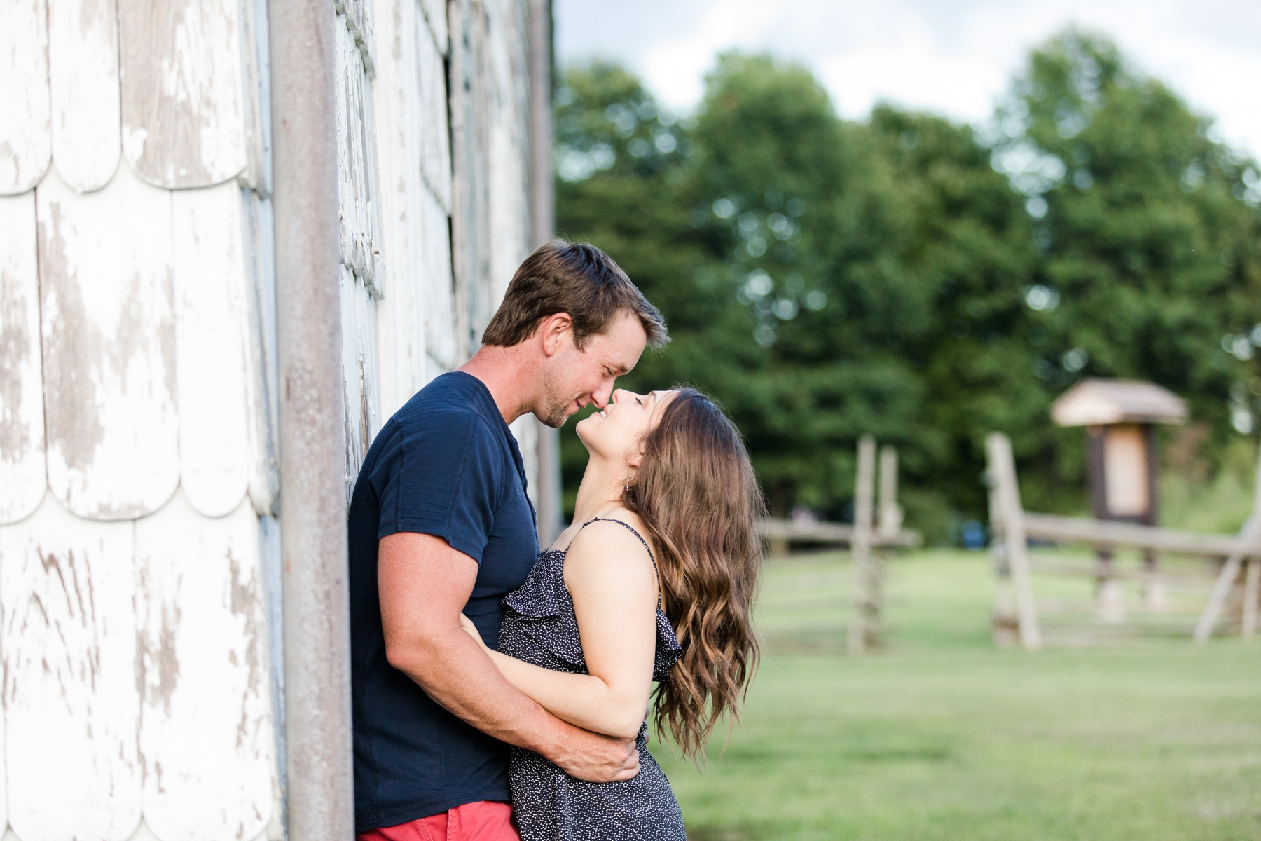 Allison + Jon Engagement Session at the historic Craig House in Freehold
