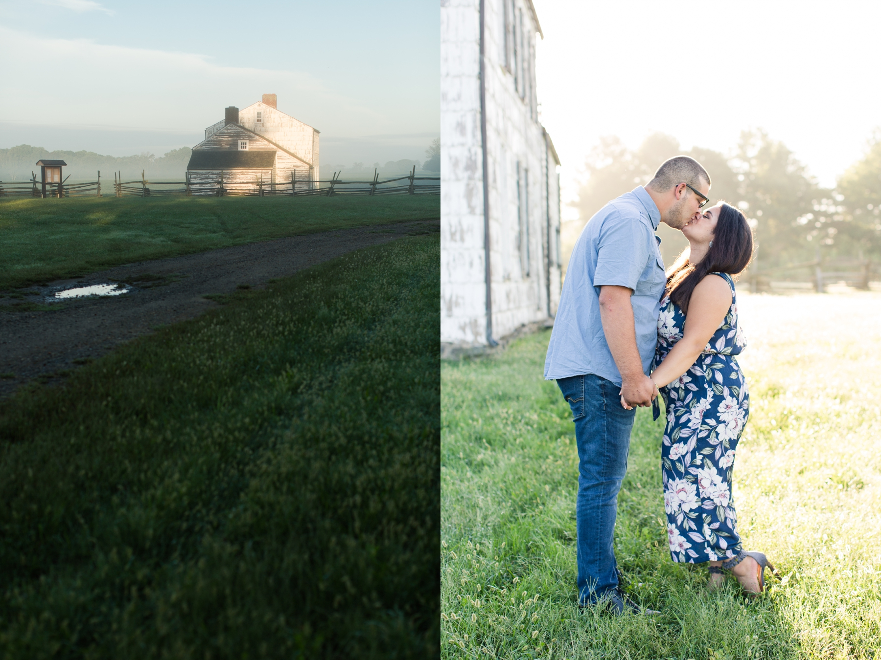 Ciara + Giovanni's Engagement Photography at the Historical Craig House