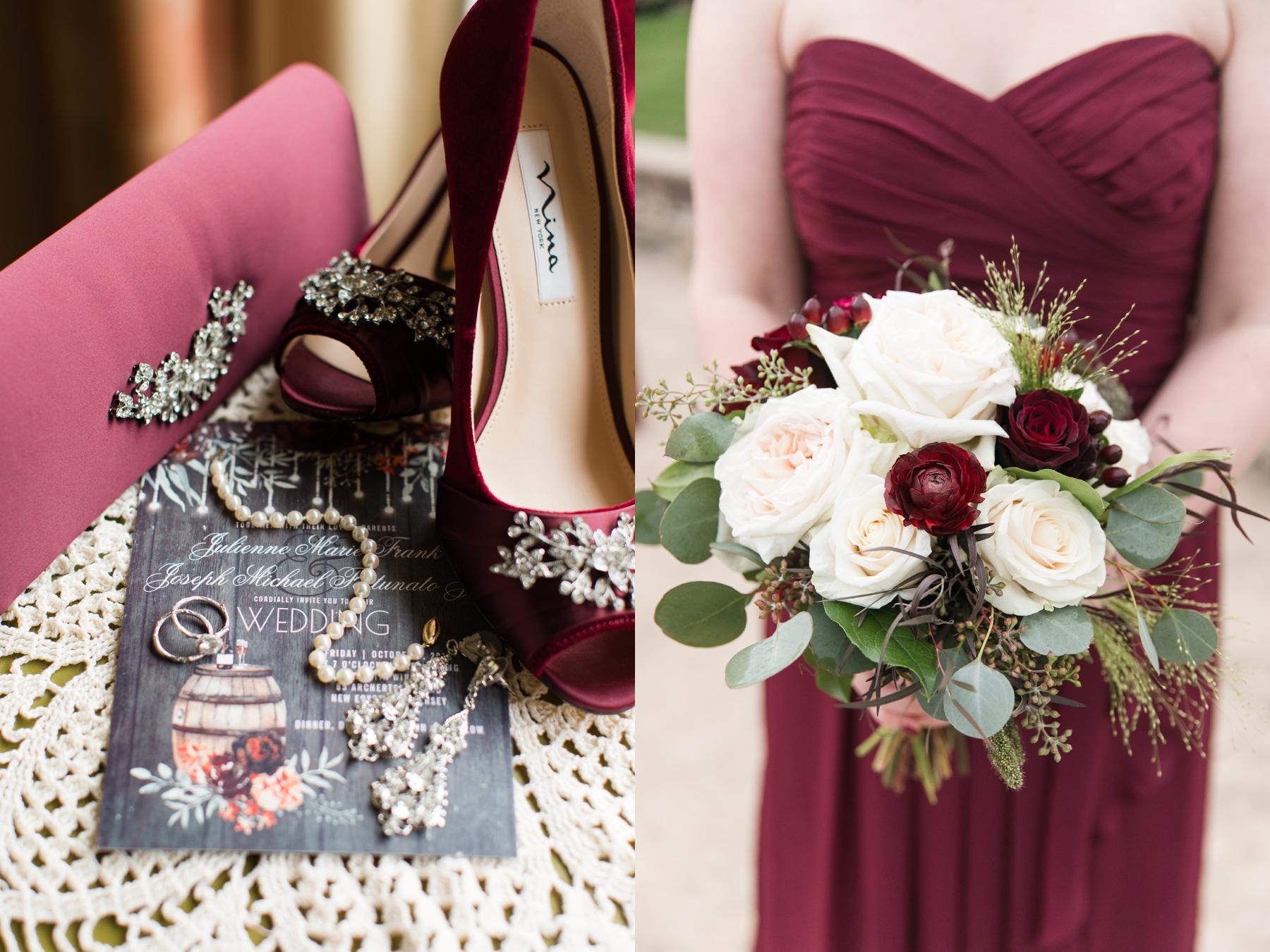 Jules + Joe's Woodsy Wedding at Laurita Winery in New Egypt, NJ