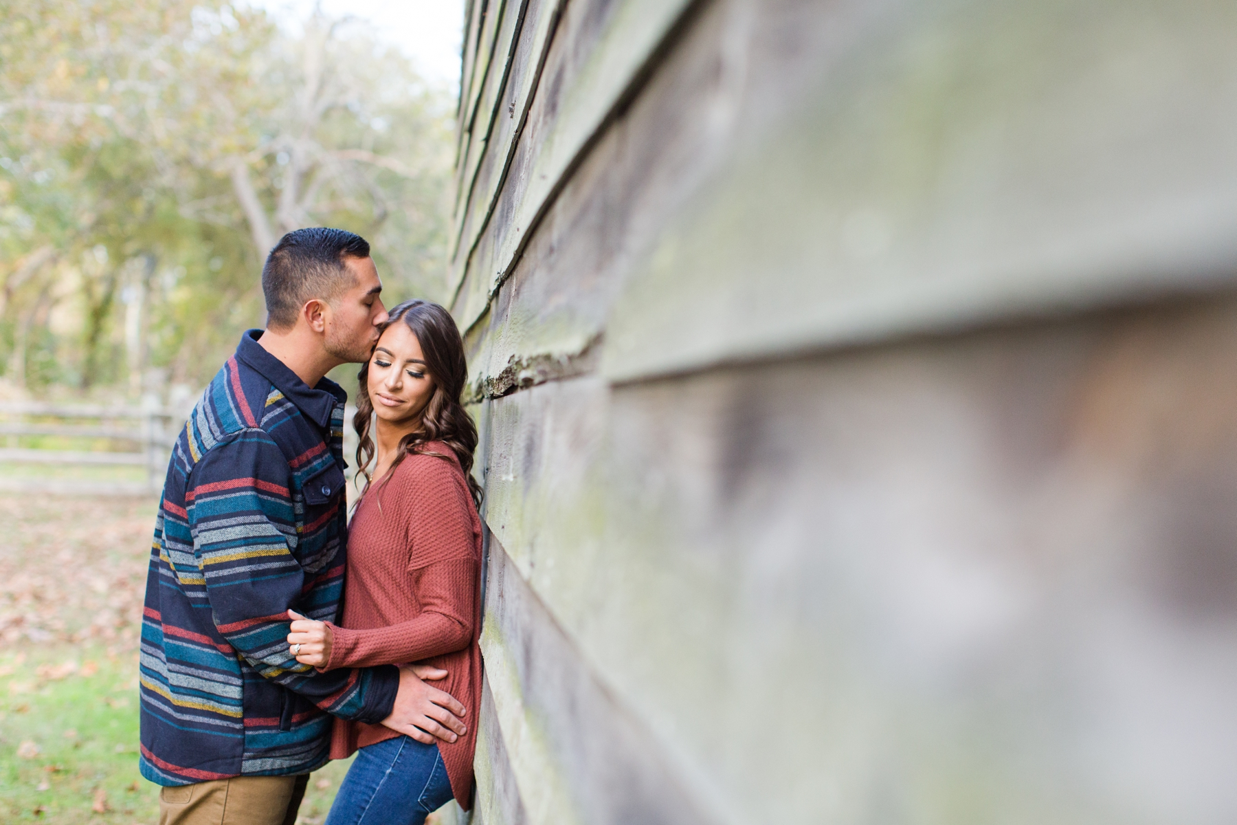 Jaclyn + Anthony's Engagement Photography at Allaire State Park