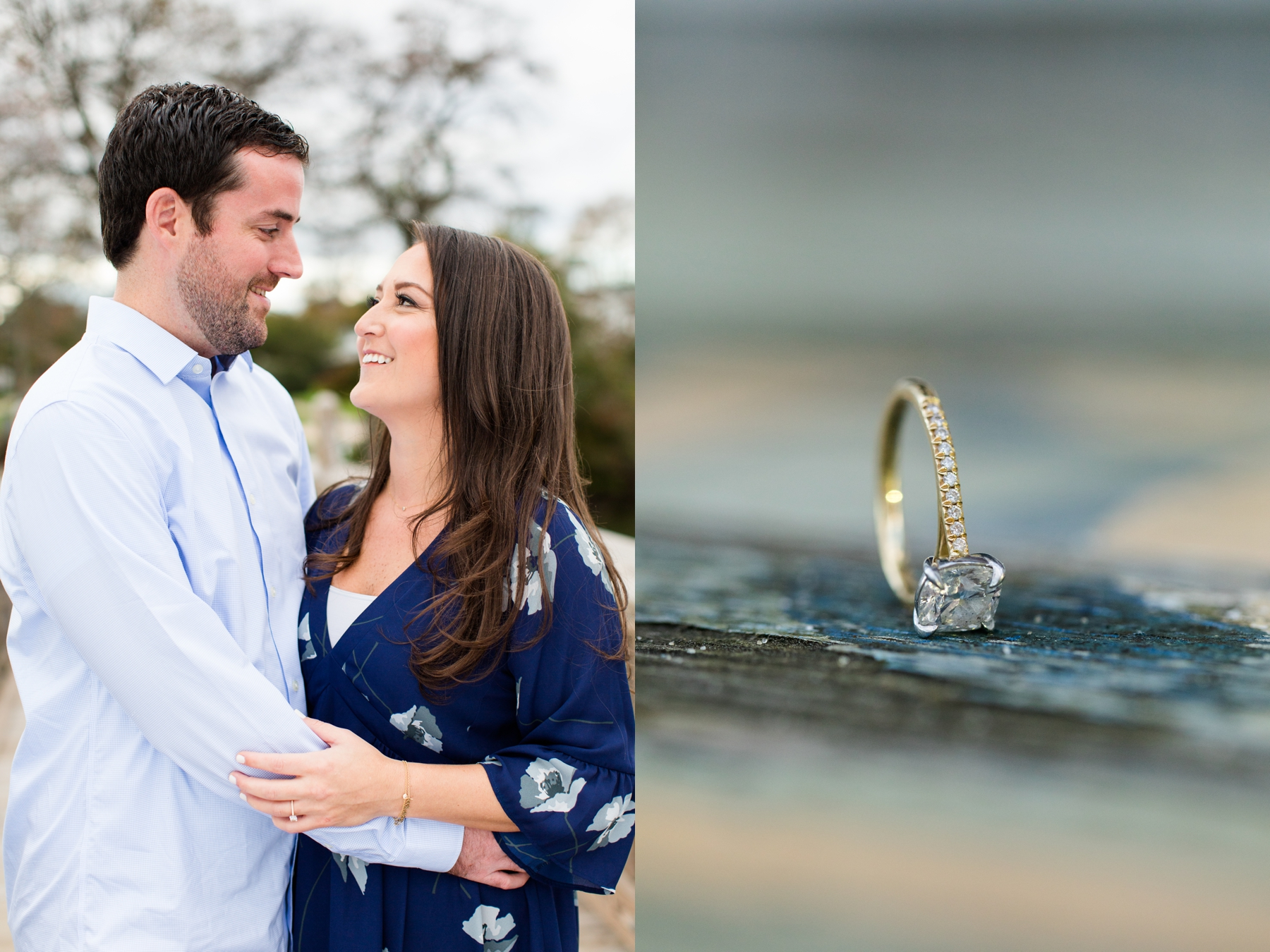 Kira + Jack's Manasquan Beach Engagement Photography