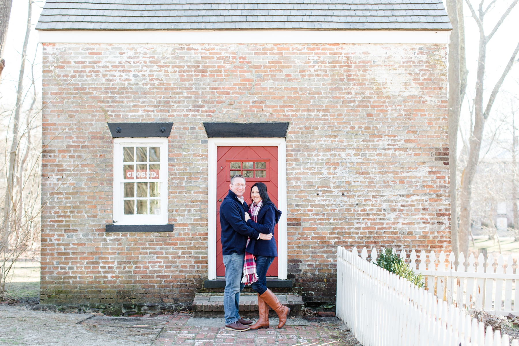 Kristi + Tim's Engagement Session at Allaire State Park