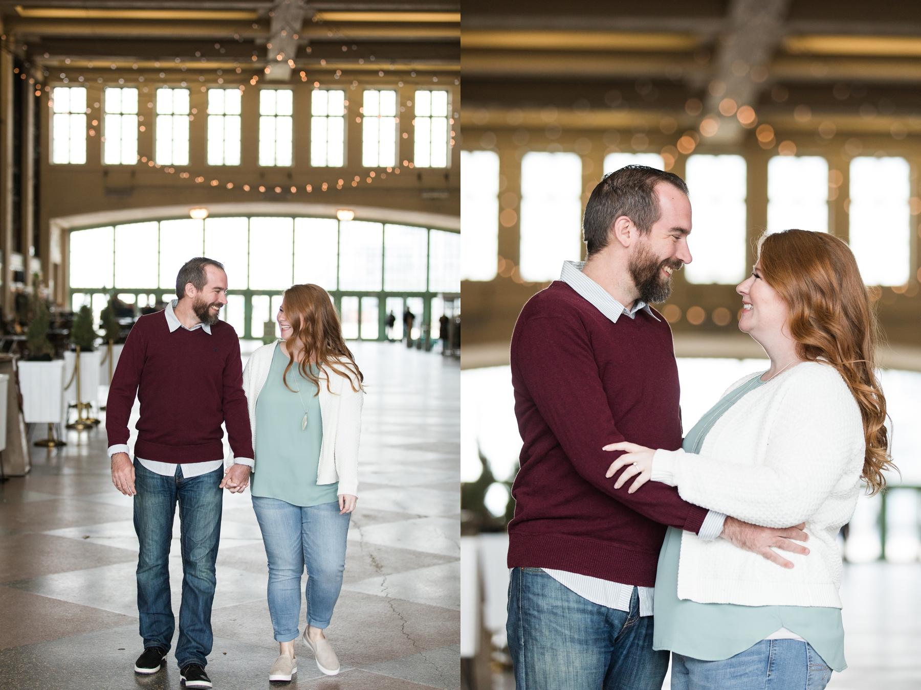 Engagement Photos In Asbury Park