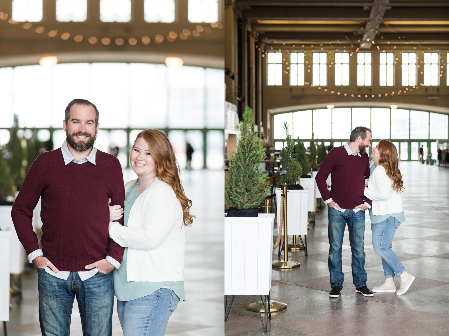 Nora and Ryan's Engagement Photography In Asbury Park