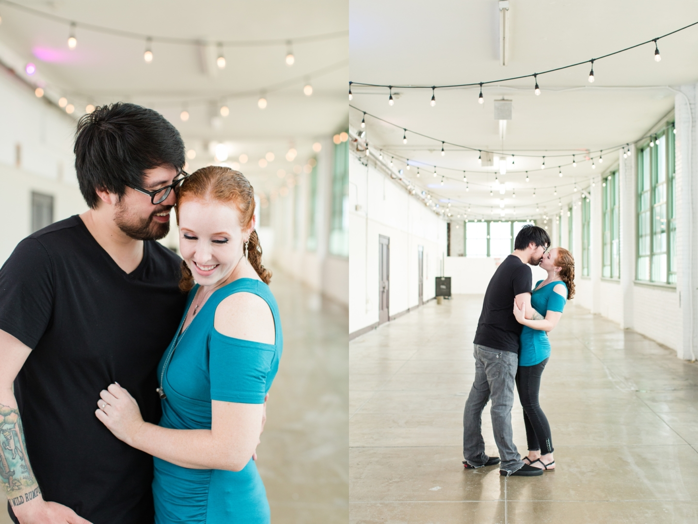 Seanna + Zac Engagement Photos on Asbury Park Boardwalk