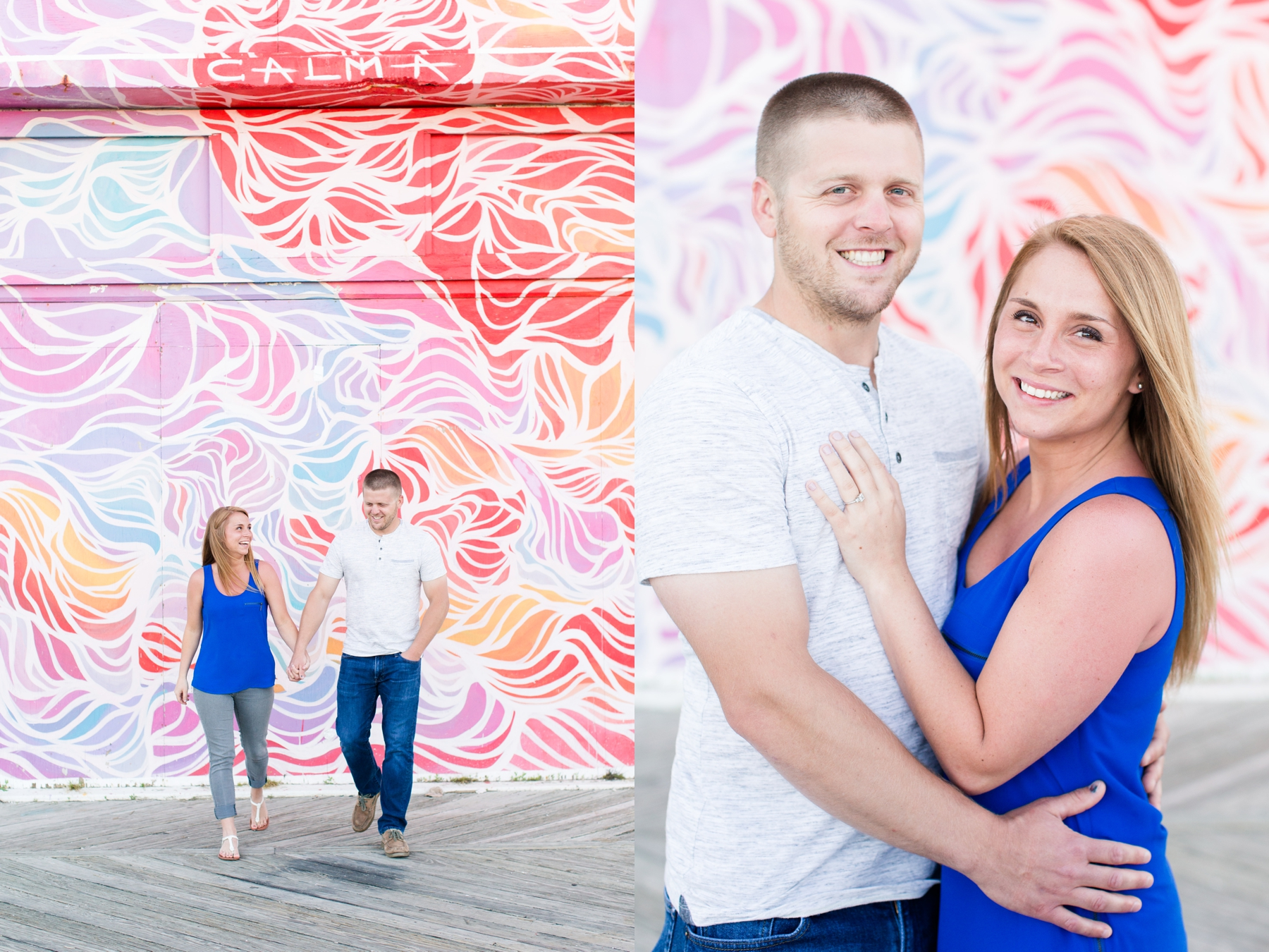 Alex and Jimmy's Asbury Park Engagement Photos