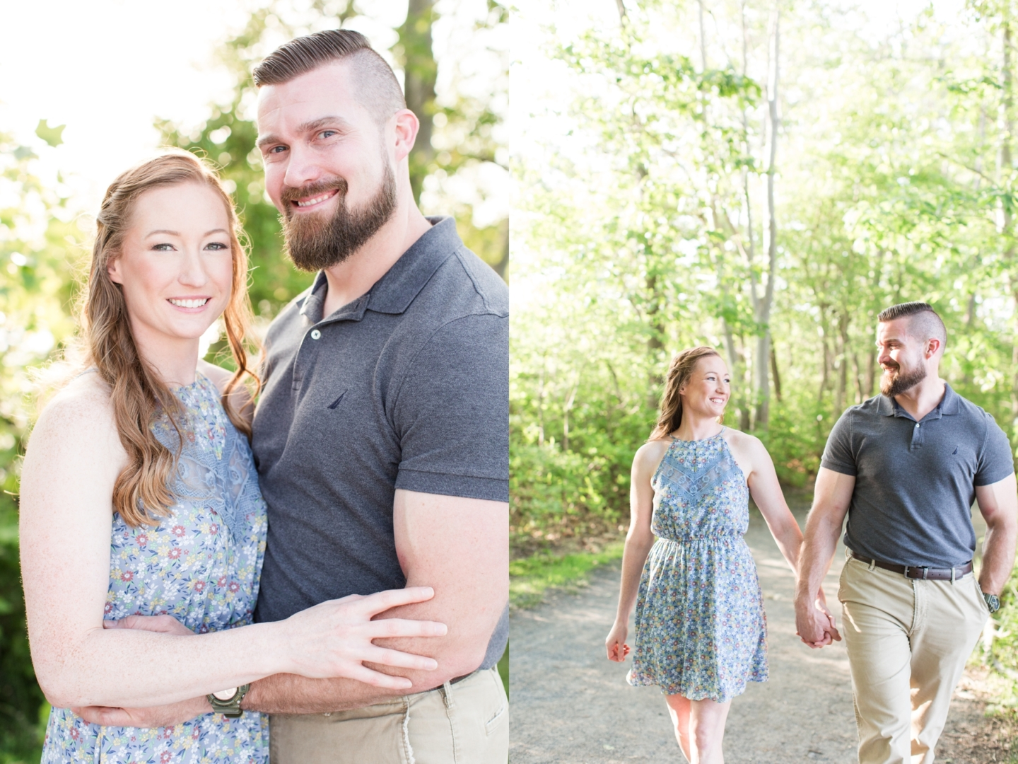 Sara and Chris' Engagement Photography at Manasquan Reservoir