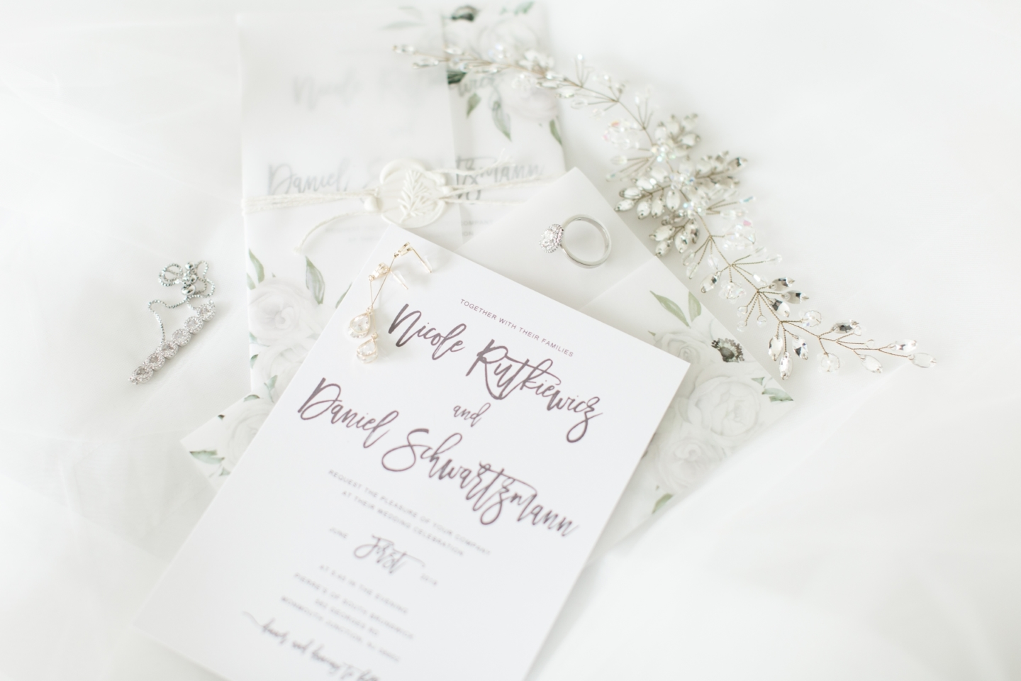 Blush and Ivory Wedding Details