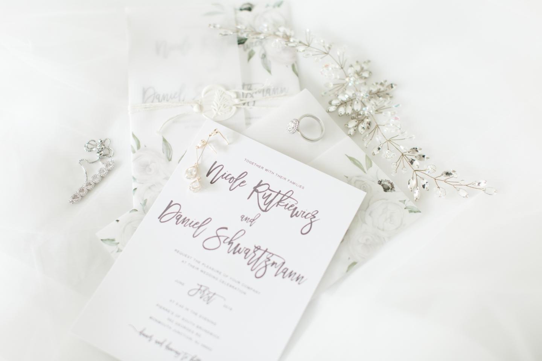 Blush and Ivory Wedding Details