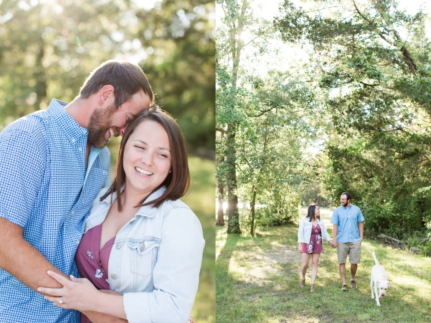 Nicole + Dave's Engagement Photography at Crowley Landing