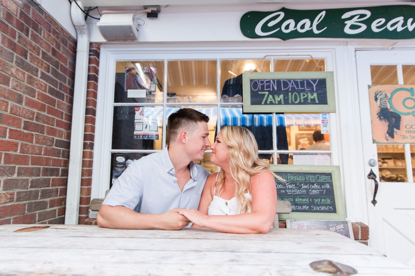 Kaitlyn + Matt's Engagement Photography at LBI!