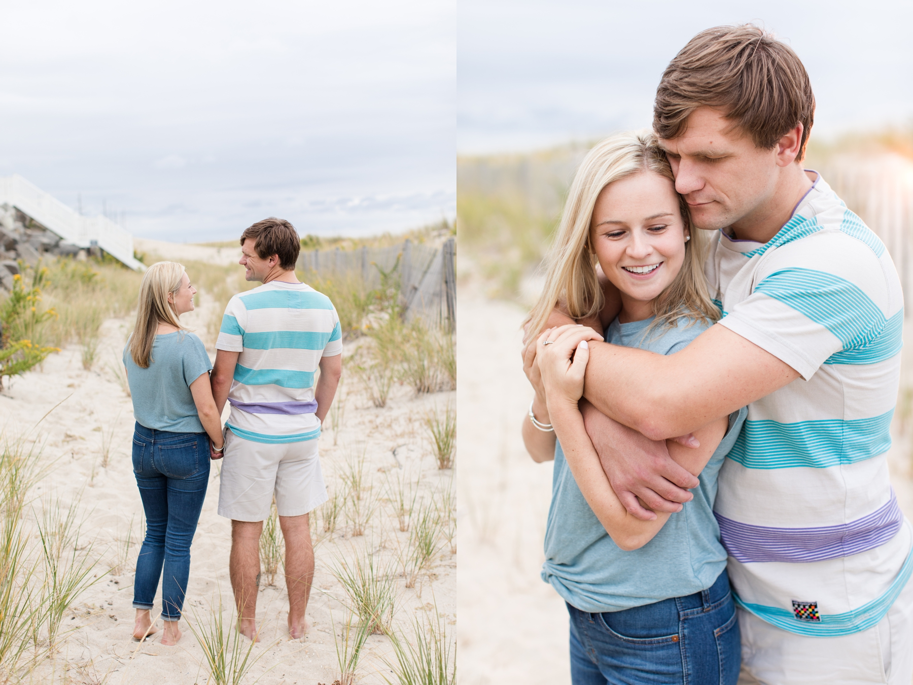 Engagement Photography at Sea Bright Beach