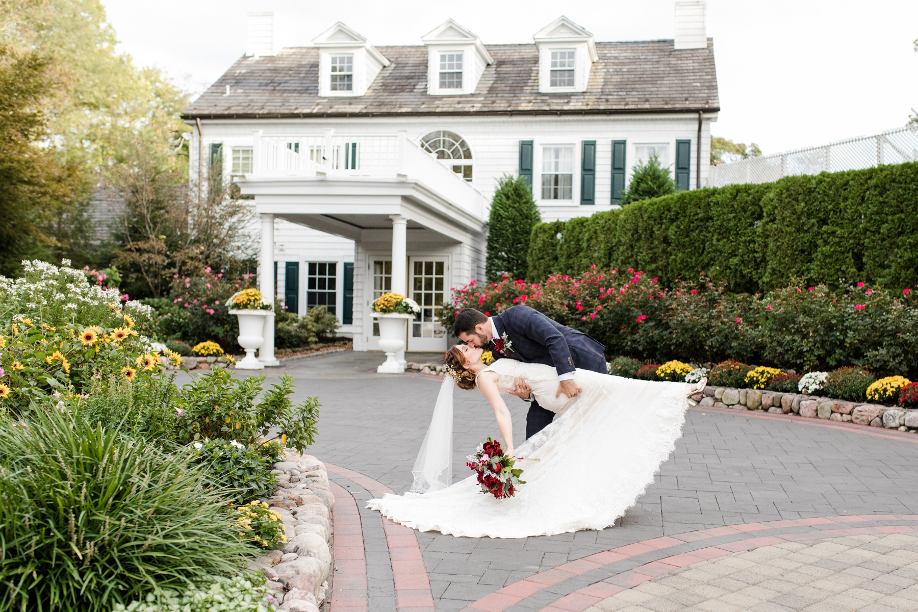 Tips and Tricks for No First Look Wedding and a Ceremony on Site at the English Manor